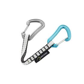 Edelrid Nineteen G - Dégaine - 18cm bleu/noir